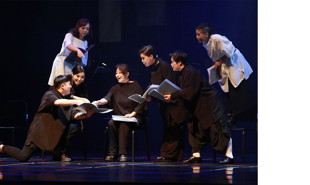 尚和歌仔戲劇團則用錄播的方式,推出受疫情影響而無法順利演出的年度大戲《棲地木蓮.劫獄》。
