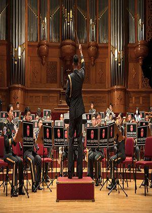 大漢天聲-紀念抗戰勝利七十六周年暨陸軍樂隊訓練成果發表音樂會