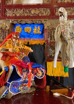 【掌中戲】西田社傳統劇場《親子布袋戲—大士爺厚火氣》